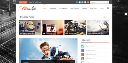 Manshet-wordpress-review-theme