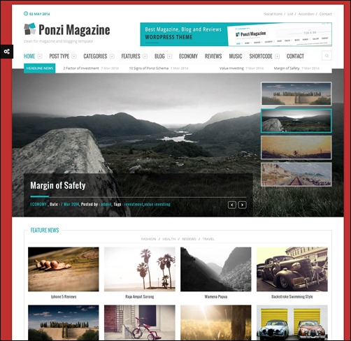 Ponzi-wordpress-review-theme
