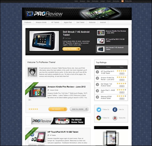 ProReview-wordpress-review-theme