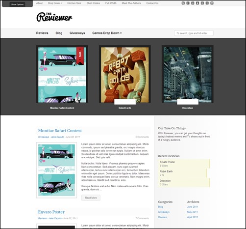 Reviewer-wordpress-review-theme