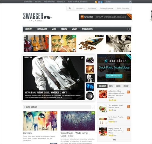Swagmag-wordpress-review-theme
