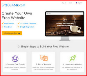 Get you free website online today!