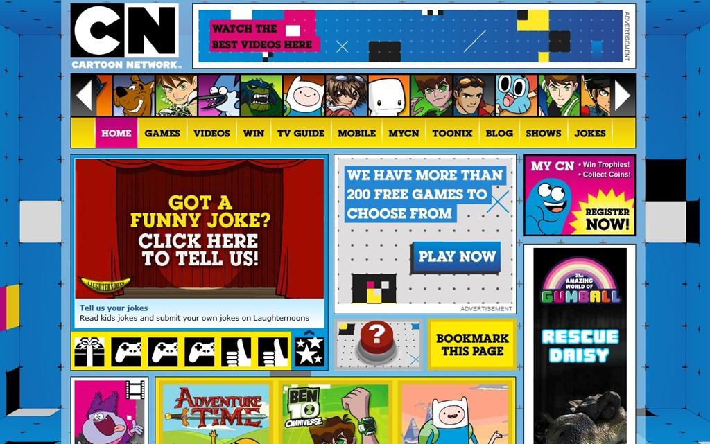 Cartoon Network Games English | cartoon.ankaperla.com