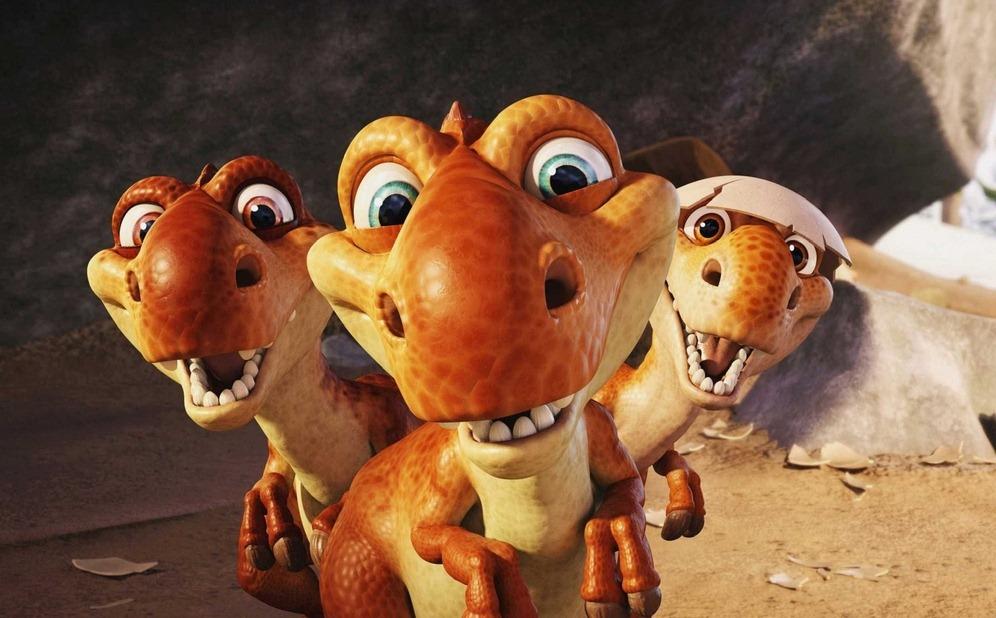 dinosaurs 3d animated cartoon hd wallpaper